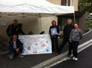 Jeu sur le temps de décomposition des déchets à la St Bruno 2012